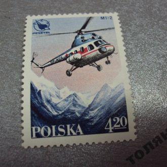 польша 1978 вертолет pezetel PZL ми-2