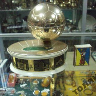 шкатулка музыкальная ссср олимпиада 1980 футбол