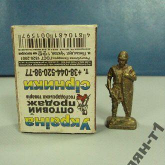 рыцарь воин миниатюра бронза