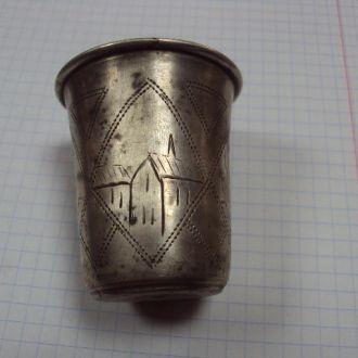 рюмка стакан иудаика серебро 33.5г