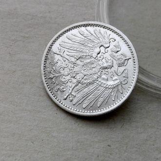 Германия 1 марка 1915 A серебро СОХРАН Unc !!!