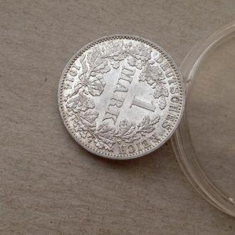 Германия 1 марка 1914 A штемпель серебро Unc !!!