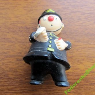 Пластмассовый полицейский .Импорт