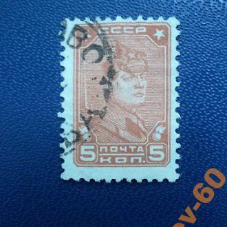 1929  Ст. марка  . гаш.