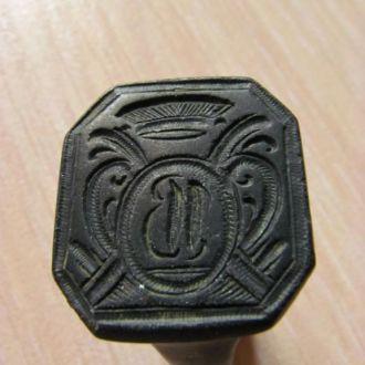 Перстень печатный прикладной . кольцо .