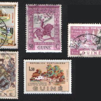Гвинея. Порт. колония. Старые марки