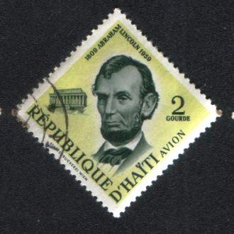 Гаити (1959) Президент США Авраам Линкольн