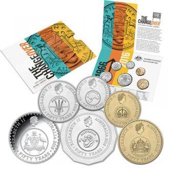Shantal, Австралия набор монет 2015 год UNC