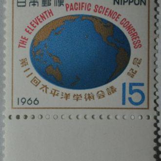 Япония  Карта Океана 1966