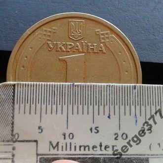 MN Украина 1 гривна 2004г., 2БА2, редкая
