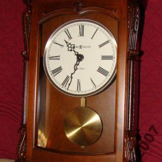 Каминные часы вишневый корпус с 1/4 боем (3118)