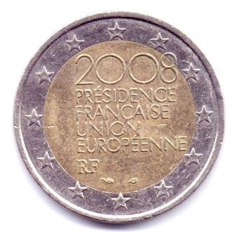 Франция 2 Євро 2008р. Представництво в ЄС