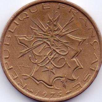 Франция 10 франків 1975р.