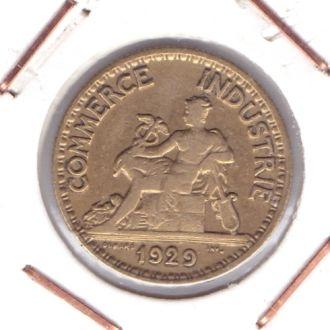 Франция 50 сантим 1929р.  R !