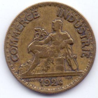 Франция 50 сантім 1924р.