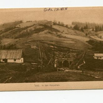 УКРАИНА 1915 ГАЛИЦИЯ КАРПАТЫ ЗАКАРПАТСКАЯ УКРАИНА