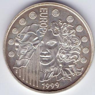 Франция 6,55957 франків  1999р. Ag 13гр.