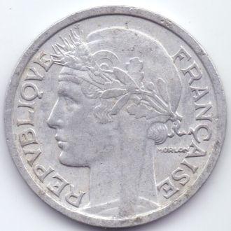 Франция 2 франки 1944р.