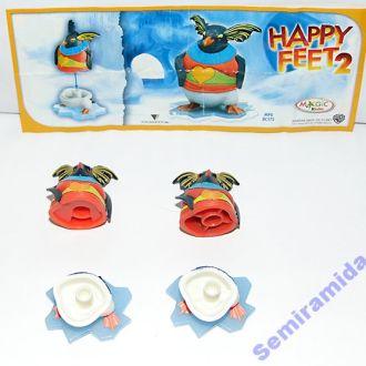 Happy Feet 2 Делай ноги Ловелас 2 варианта +1 вкл