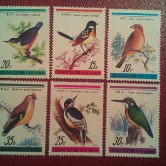Фауна Корея 1988 Птицы MNH КЦ 10,00