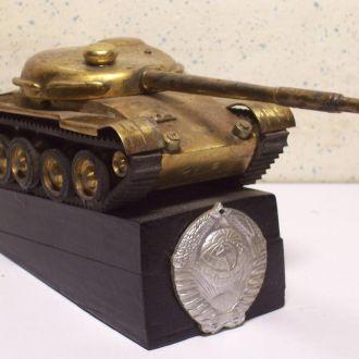 Танк, память службы в Советской армии, СССР 1960ые