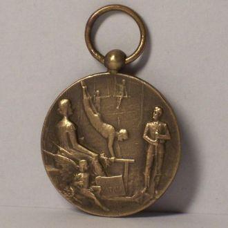 Военно-спортивная медаль, модерн, Польша 1920ые
