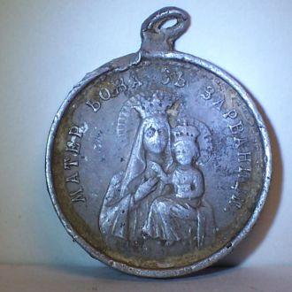 Икона Зарваница, крест из Милятина, Галиция, 1890е