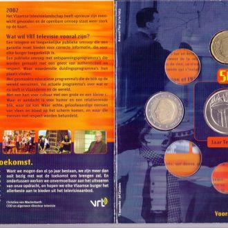 Бельгія Набір Євромонет 2003 р. + жетон мон. двору