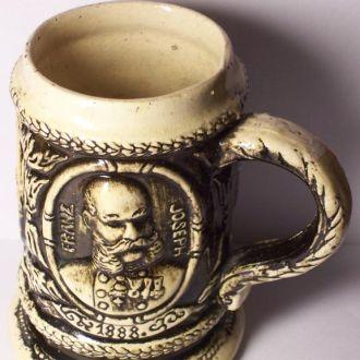 Гербовая кружка на пиво, Галиция, Украина 1888 год