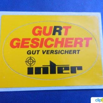 Наклейка, наклейки Германия № 10