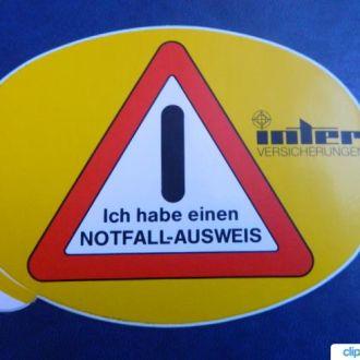 Наклейка, наклейки Германия № 15