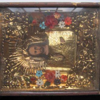 Икона в киоте  Господь вседержитель Иисус Христос