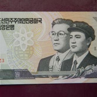 Северная Корея 5 вон 2002г. UNC