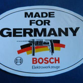 Наклейка, наклейки Германия № 42