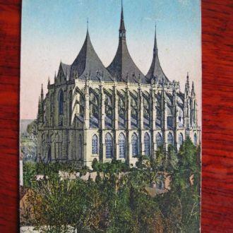 Кутна Гора храм Святой Варвары 1928г.