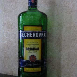 Бутылка в коллекцию или для интерьера №34