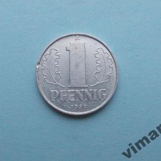 Германия ГДР 1 пфенниг 1960