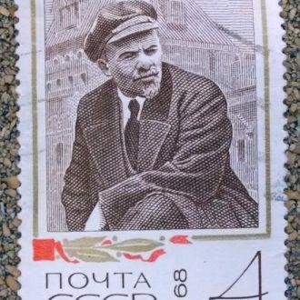 марки СССР искусство Ленин с 1 гривны