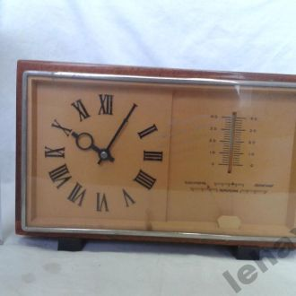 Часы Маяк барометр