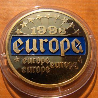 Медаль Европа Бык 1998