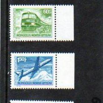1973 МОНГОЛИЯ - транспорт, лошади