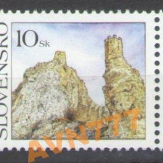 Словакия 2006 Замок купон Полиция сцепка поле MNH