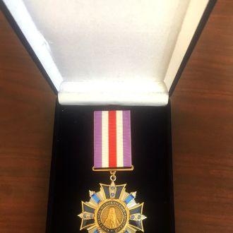 Медаль Святителя Иннокентия Одесского II ст.