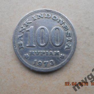 Индонезия,100 рупий , 1973 год.