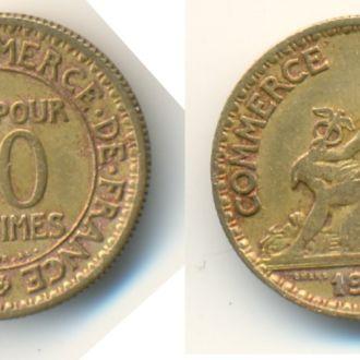 Франция  50 CENTIMES 1927