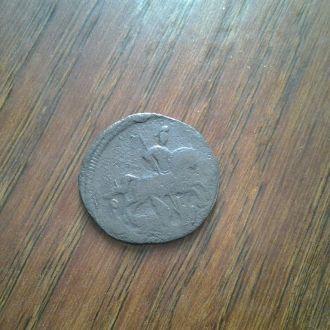Деньга 1760 г. Нечищенная.