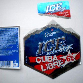 Этикетка   Айс CUBA LIBRE