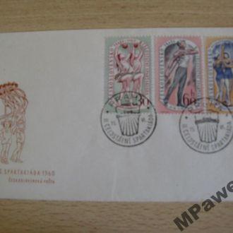 СГ Спорт. 2-я спартакиада Чехословакии. 1960.