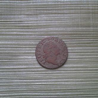 Пруссия 2 гроша 1774 г. Серебро.