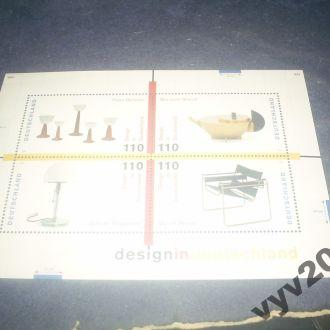 ФРГ**-1998 г.-Дизайн (блок)